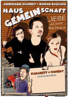 Plakat Hausgemeinschaft mit Annemarie Schmidt und Roman Raschke
